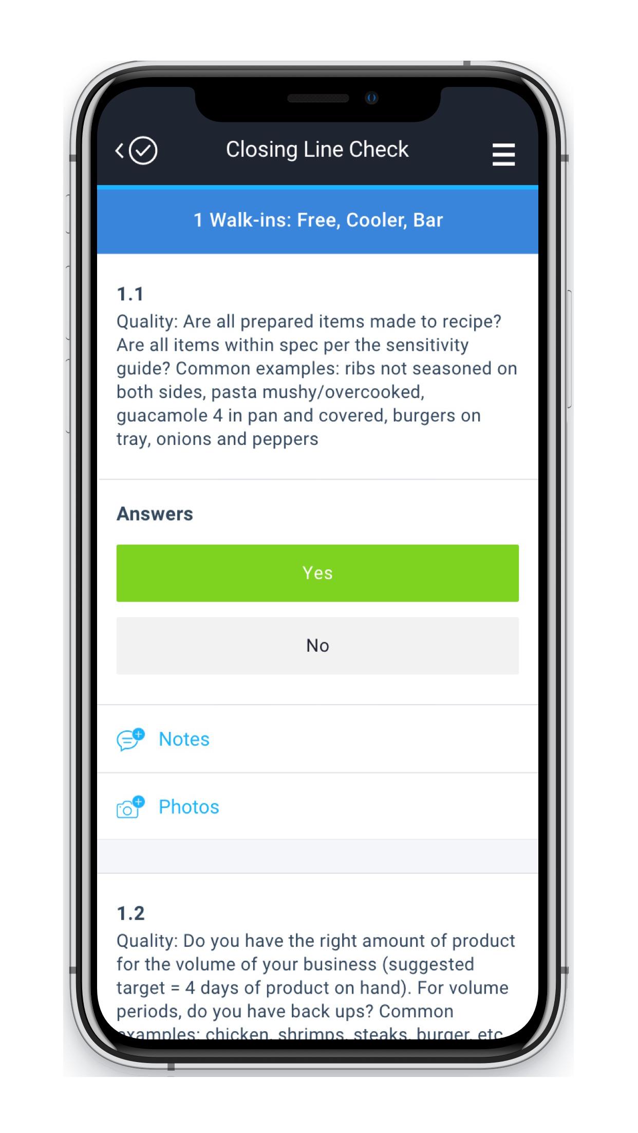 Therma Digital Checklist App - Customizable