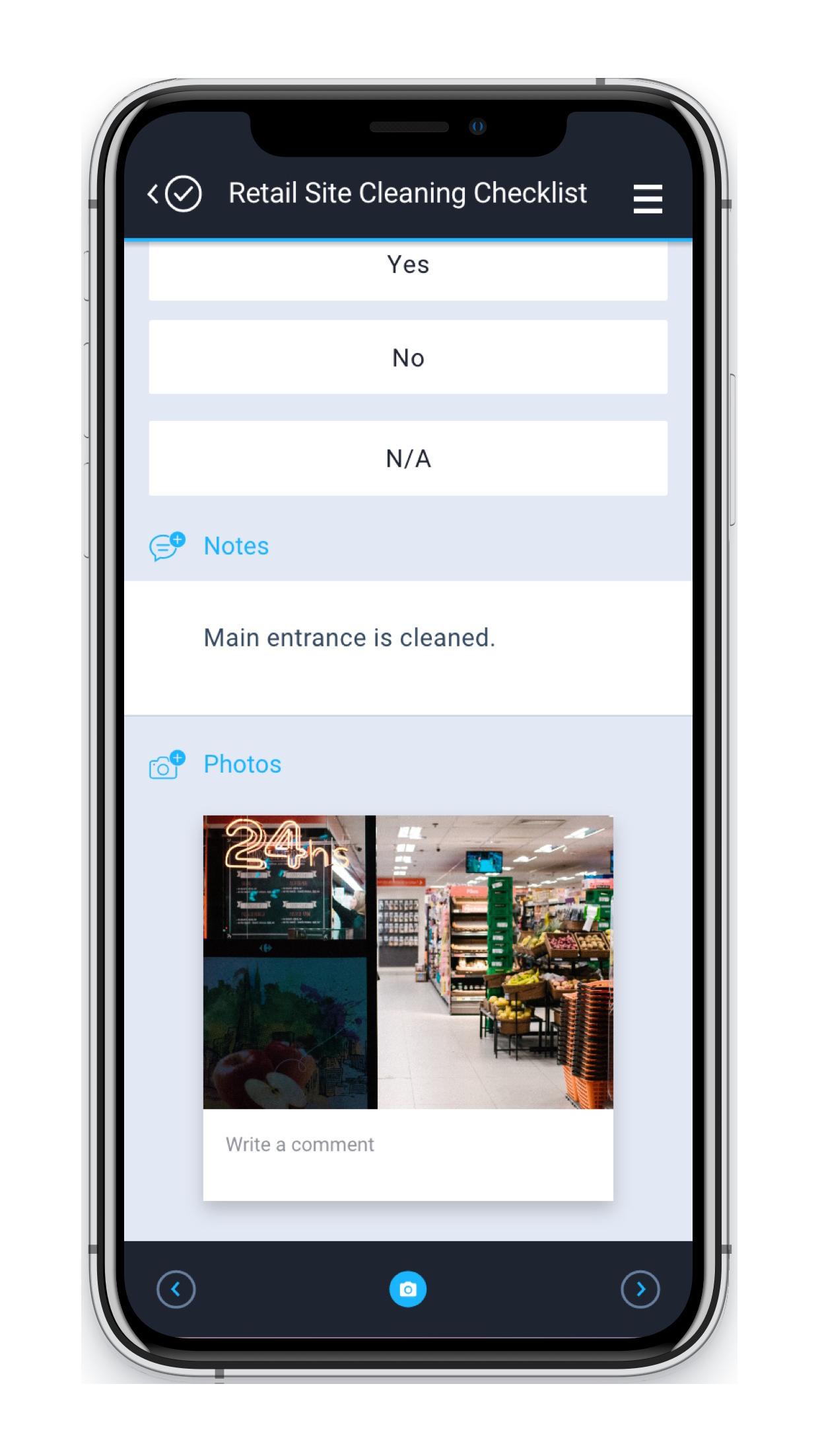 Therma Digital Checklist App - HACCP