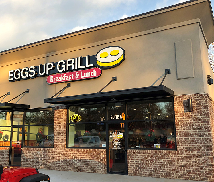 Therma° helps Eggs Up Grill prevent inventory loss