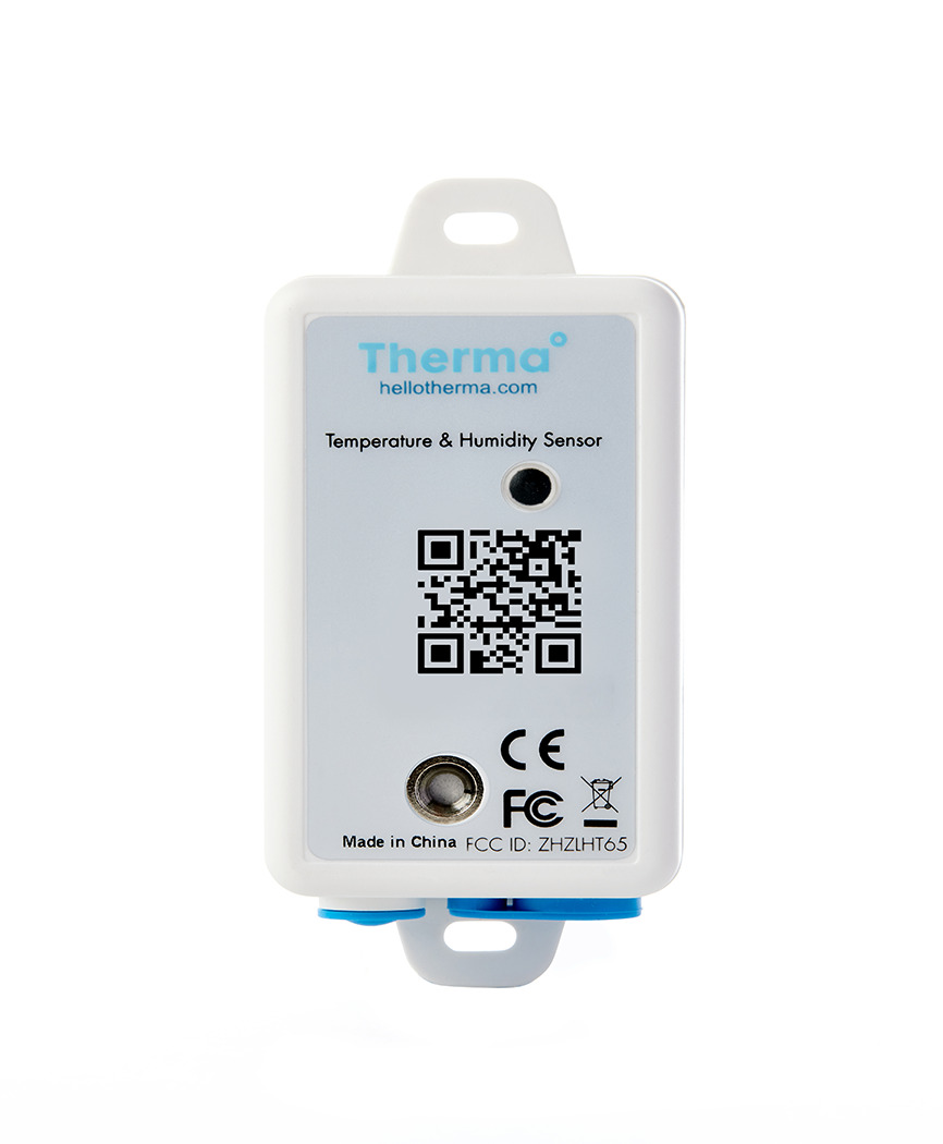 Therma° outperforms WiFi and Bluetooth temperature sensors