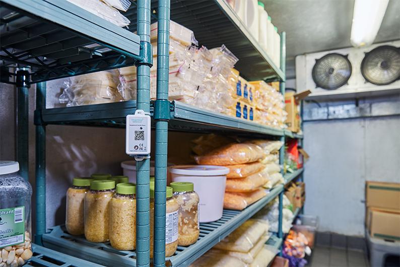 remote temperature management in a walk-in refrigerator